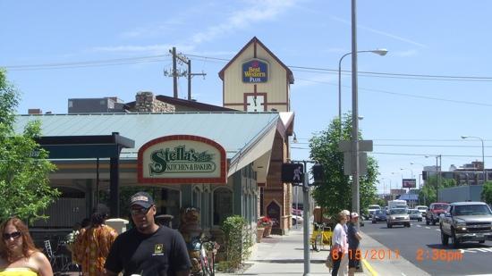 Stella's Kitchen and Bakery: Stella's and Clocktower Best Western