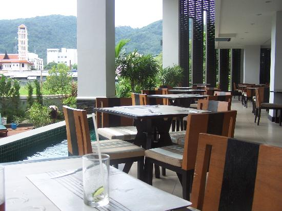 Andakira Hotel Patong: the dining area