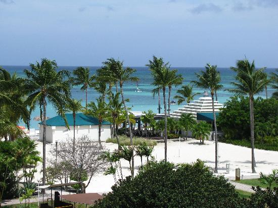 Marriott's Aruba Ocean Club: La vue du balcon / The view from the balcony