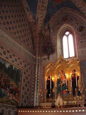 Tenuta del Palagio: la cappella del castello