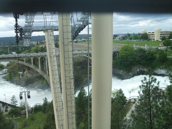 Spokane, Etat de Washington : sky ride
