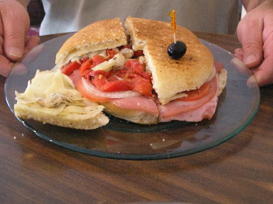 Saladino's Italian Market: What a great sandwich