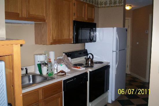 Laurel Crest: small kitchen
