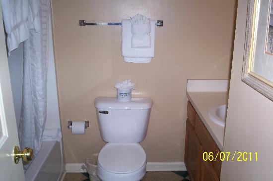 Laurel Crest: small bathroom