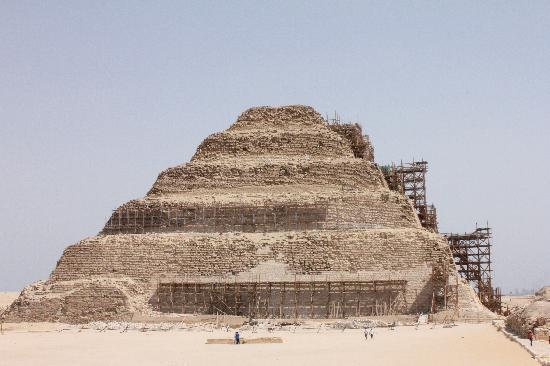 Pyramides de Saqqarah : Step Pyramid