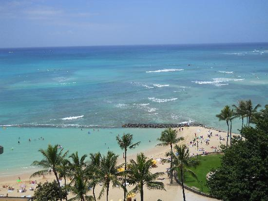 Aston Waikiki Circle Hotel: View from our room.