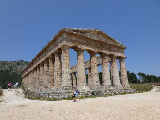 Calatafimi-Segesta, Italie : The Temple of Apollo