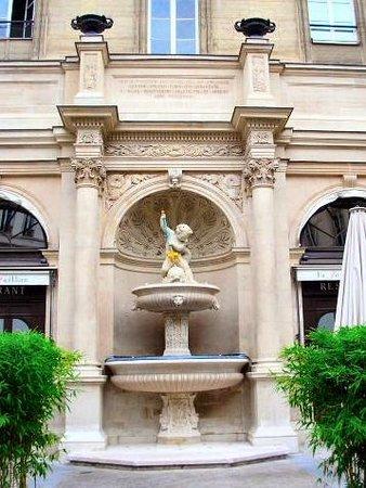 La fontaine Gaillon.