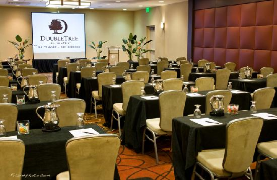 DoubleTree by Hilton Hotel Baltimore - BWI Airport: Doubletree BWI first rate conference space