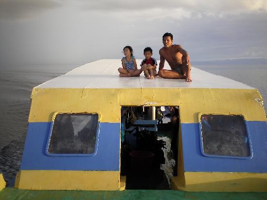 Bunaken Island Resort: On the dive boat