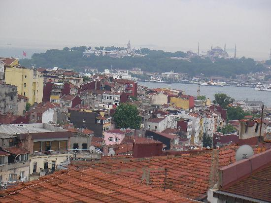 Taksim Prelude Hotel: view from the balcony