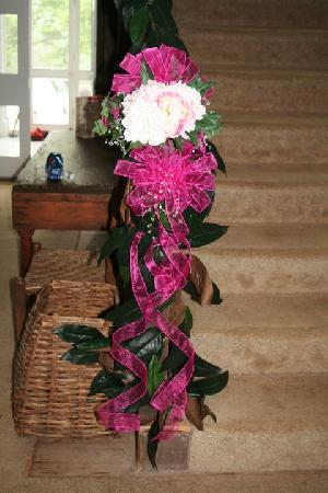 Littlepage Inn : stairway decorated in Main House  at Little Page Inn