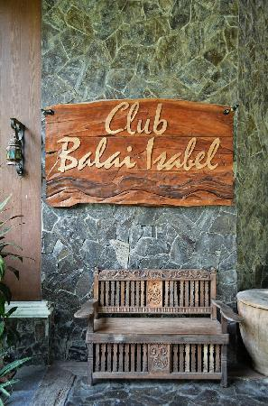 Club Balai Isabel : The Restaurant
