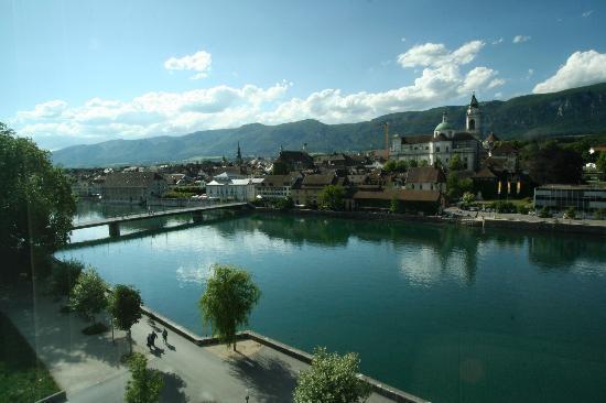 Ramada Solothurn: View from sixth floor window