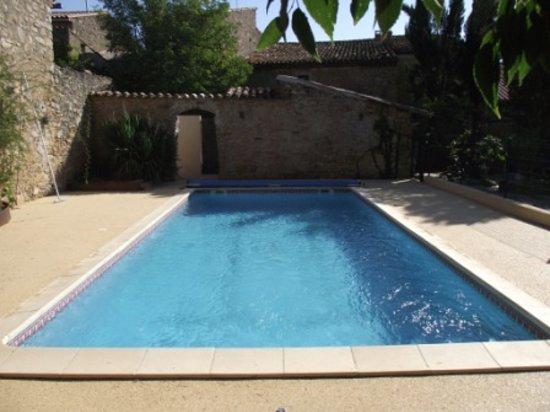 Muso : Our private swimming pool