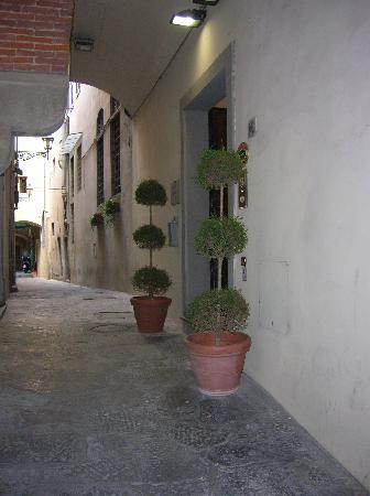 Relais Uffizi: l'ingresso