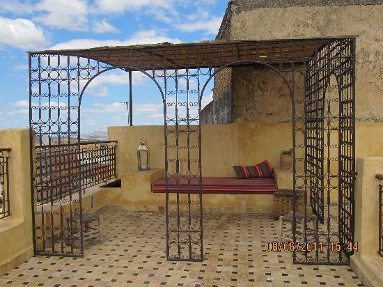 Ryad 53 : une terrasse