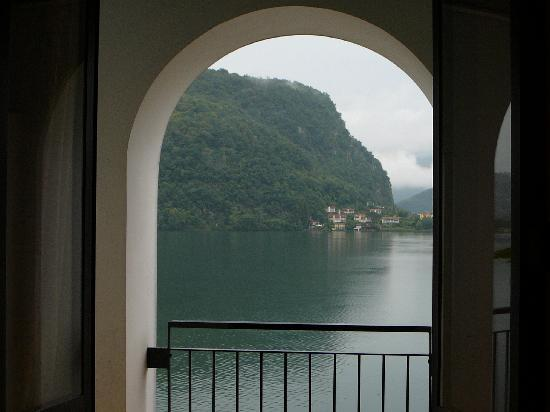 Hotel Socrate: Utsikten mot Luganosjøen er fin, men...