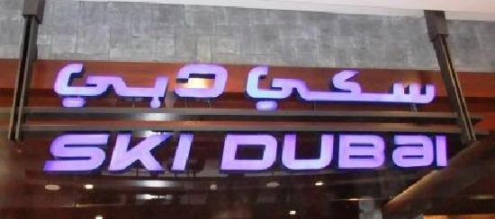 Ski Dubai: Entrance