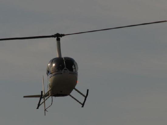 Hotel Deutsches Haus: Helikopter