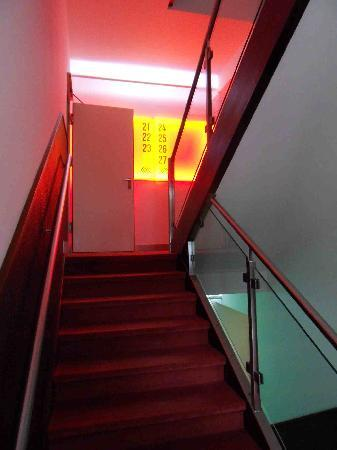 Hotel Deutsche Eiche: Das Treppenhaus