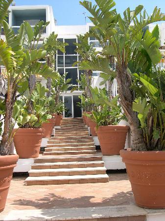 ELMA Park Hotel Terme e Benessere : scalinata