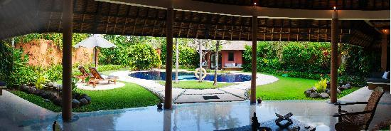 The Villas Bali Hotel & Spa: garden view