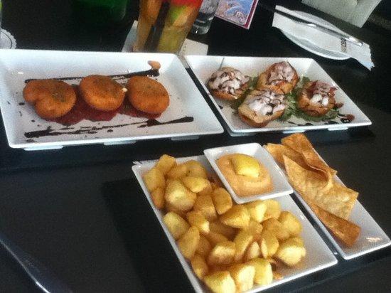 BarCelona Lounge: our tapas