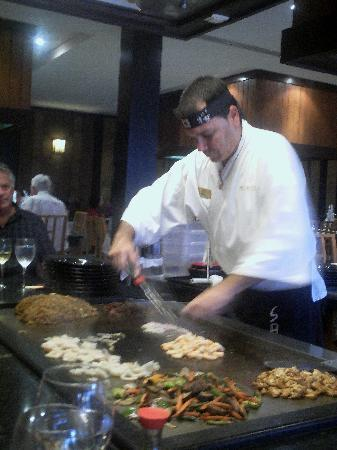Paradisus Princesa del Mar Resort & Spa: Evelio, a wonderfull chef!