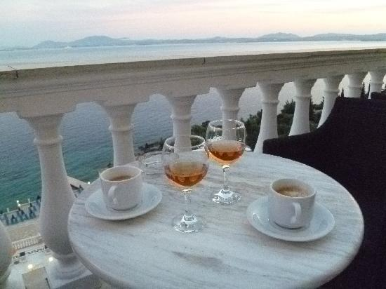 Sunshine Corfu Hotel & Spa : There's brandy and there's Greek Brandy!!!