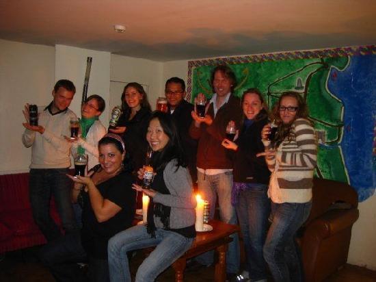 Green Door Hostel: group