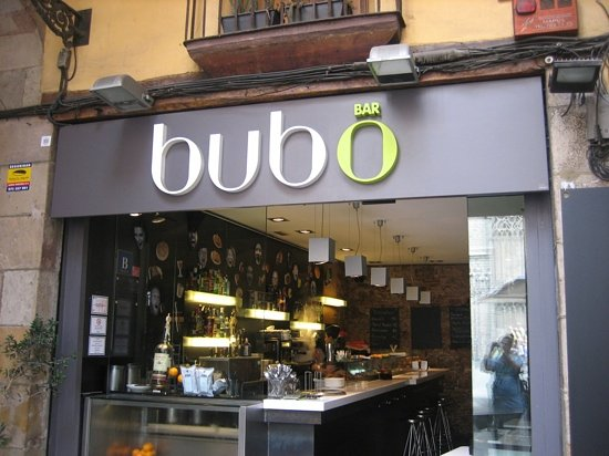Bubo Born : the front of Bubo