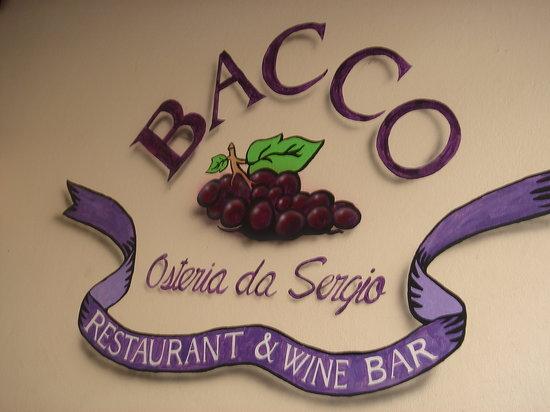 Bacco - Osteria da Sergio : super baccoooooooooooo!