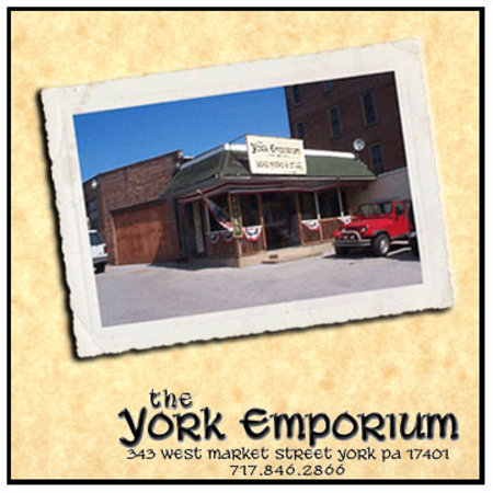 The York Emporium: 343 West Market Street, York PA 17401