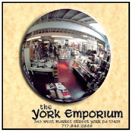 The York Emporium: A used book & curiosity shop, with 19,000 sq. ft. of fun stuff in downtown York, PA.
