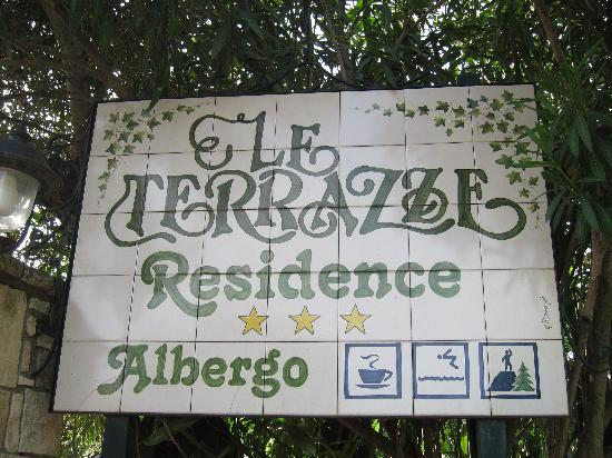Hotel Residence Le Terrazze: Hotel Sign