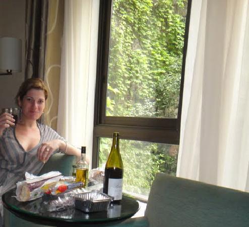 Garden Elysee Hotel: room view