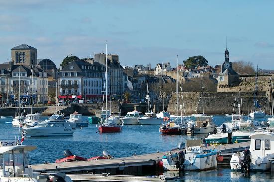 Siblu Villages - Domaine de Kerlann: Port de Concarneau à l'entrée de la ville close