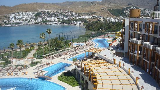 Kefaluka Resort: vue