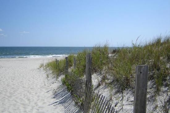 Island Beach State Park: Entrance to paradise