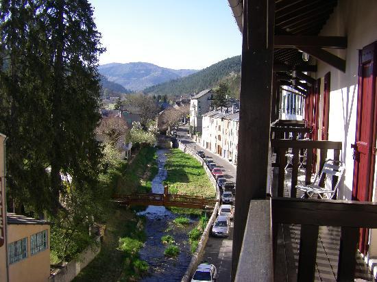 Hotel d'Europe : balcon du 3eme étage