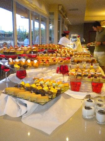 Club Med Napitia : les pâtisseries