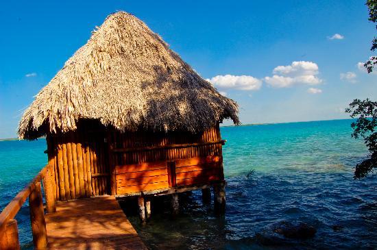 Rancho Encantado: La cabaña para masajes