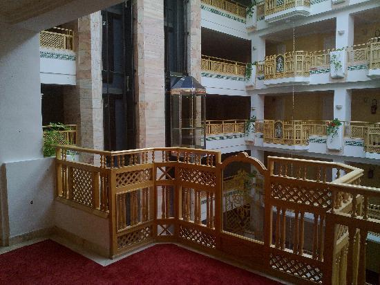 Marhaba Royal Salem: outside our room
