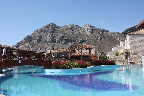 Holiday Village Rhodes: pool area