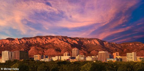 Albuquerque, Nuovo Messico: Sandia Sunset