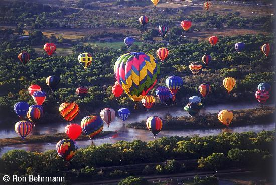 Albuquerque, Nuevo Mexico: Hot-Air Balloons