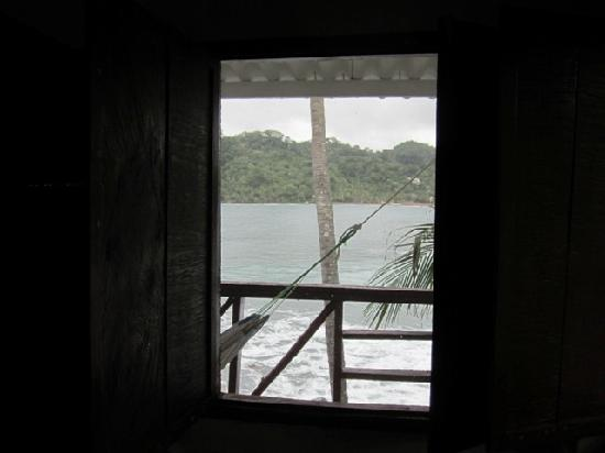 Isla Grande, Panama: view from my window