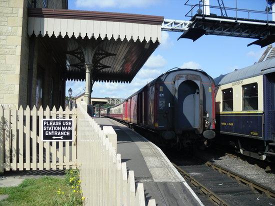 Nene Valley Railway: Wansford Station