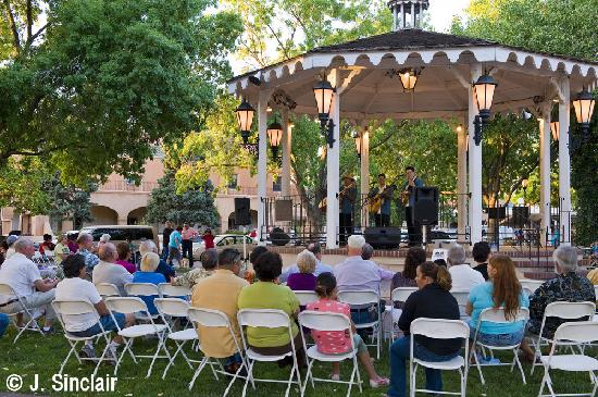 Albuquerque, NM: Gazebo in Historic Old Town